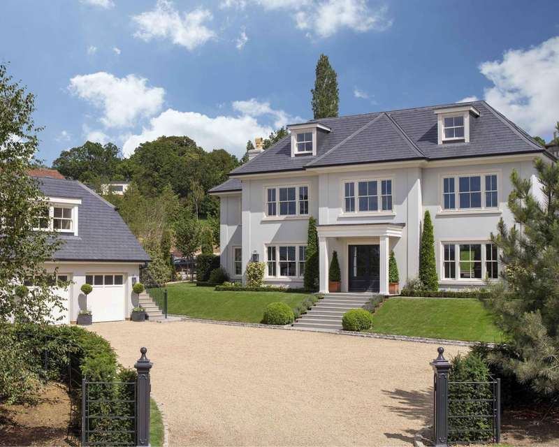 5 Bedrooms Detached House for sale in Harvest Hill, Bourne End, SL8