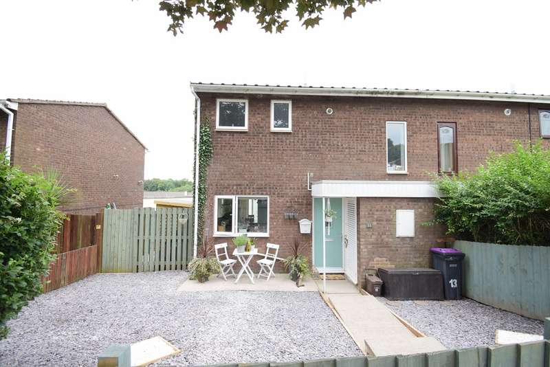2 Bedrooms Semi Detached House for sale in Penyparc, Pontnewydd, Cwmbran, NP44