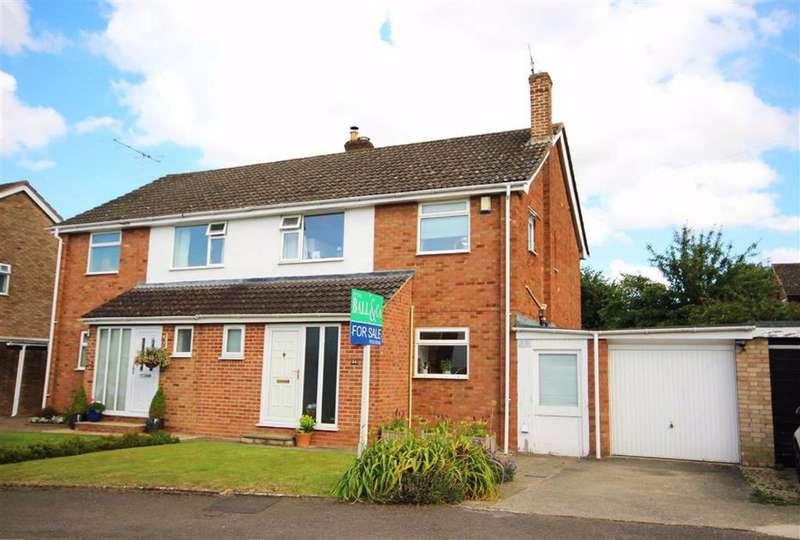 3 Bedrooms Semi Detached House for sale in Vineries Close, Leckhampton, Cheltenham, GL53