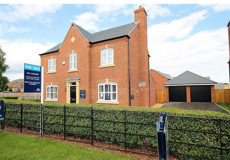 4 Bedrooms Detached House for sale in Croft Close, Two Gates, Tamworth, B77 1BY