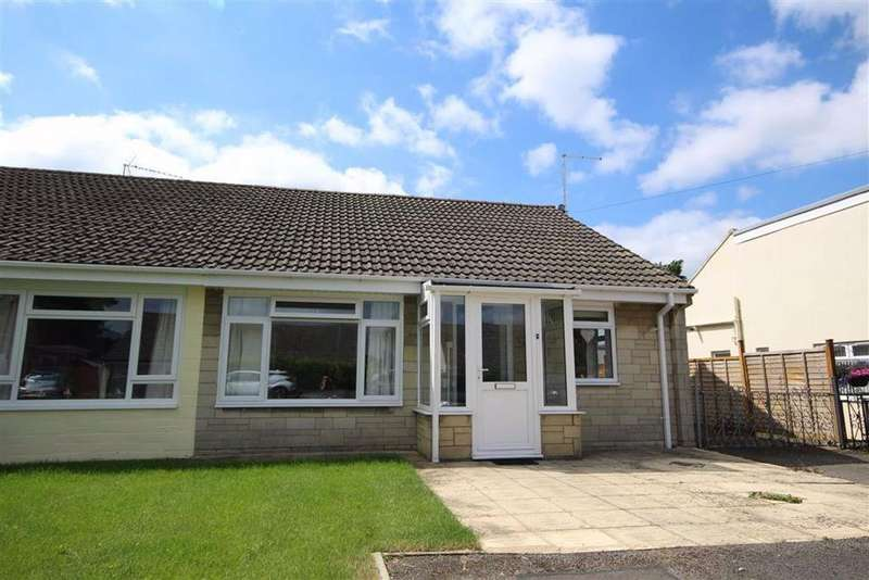 2 Bedrooms Semi Detached Bungalow for sale in Longlands Close, Bishops Cleeve, Cheltenham, GL52