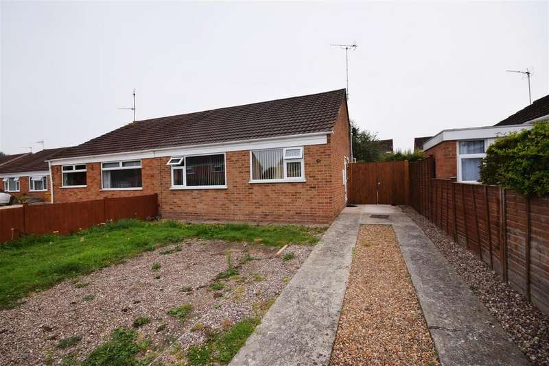 2 Bedrooms Semi Detached Bungalow for sale in Chiltern Road, Quedgeley, Gloucester