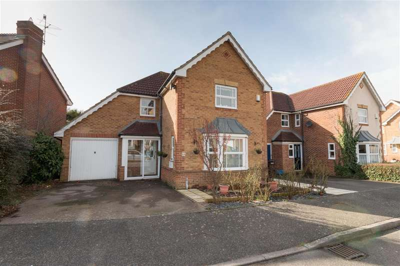 4 Bedrooms Detached House for sale in Patcham Mill Road, Stone Cross, Pevensey