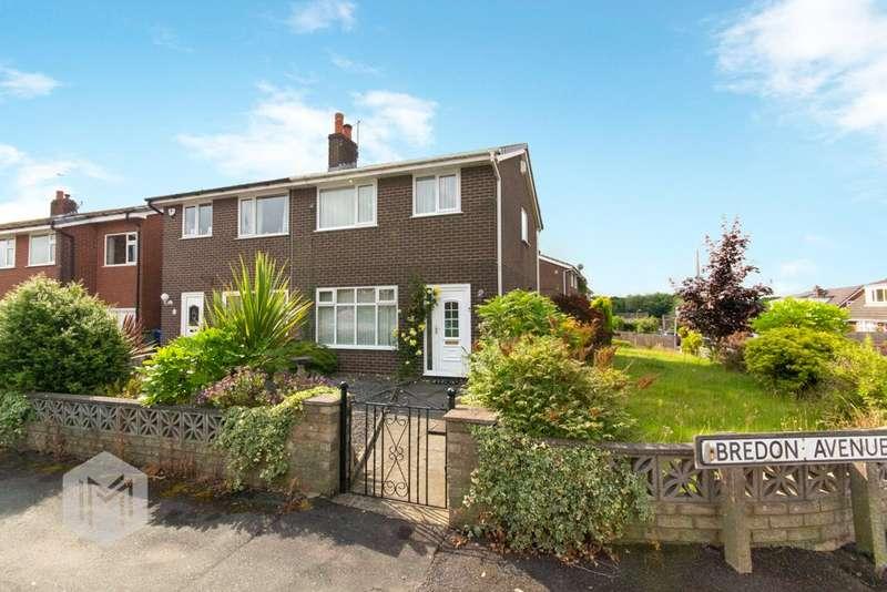 3 Bedrooms Semi Detached House for sale in Bredon Avenue, Euxton, Chorley, Lancashire, PR7