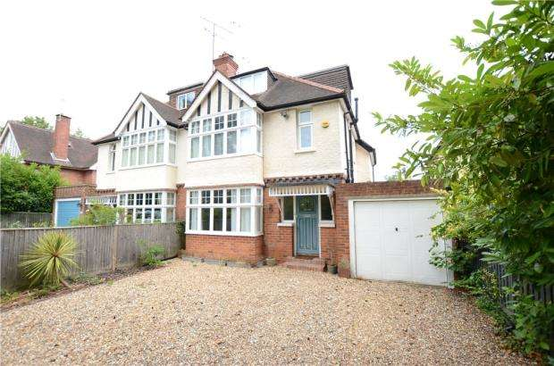 4 Bedrooms Semi Detached House for sale in Kidmore Road, Caversham, Reading
