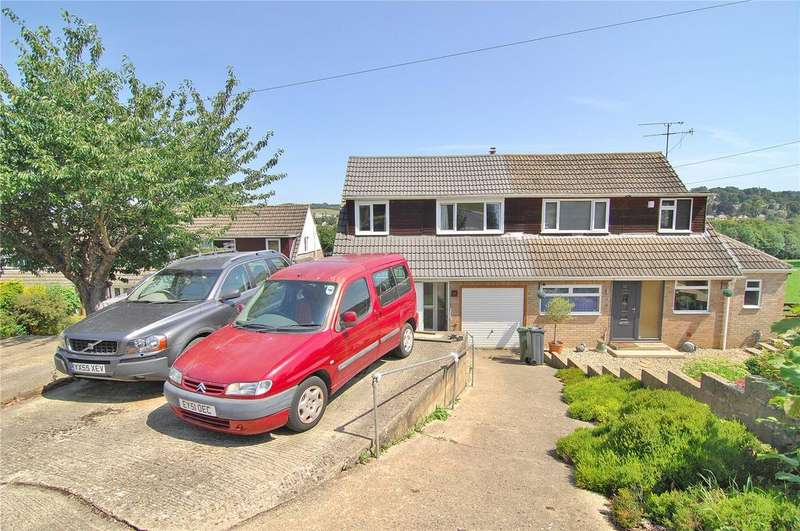 3 Bedrooms Semi Detached House for sale in Arundel Drive, Rodborough, Stroud, Gloucestershire, GL5