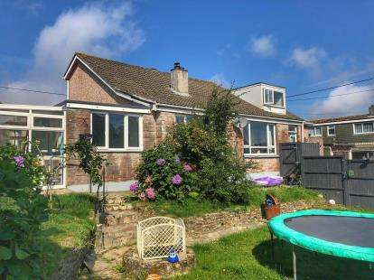 5 Bedrooms Detached House for sale in Indian Queens, St. Columb, Cornwall