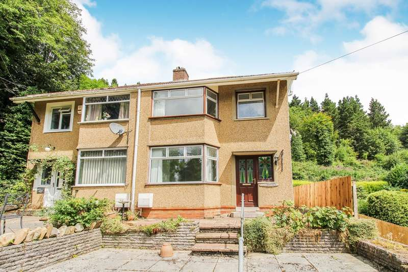 3 Bedrooms Semi Detached House for sale in Ebbw View, Beaufort, Ebbw Vale, NP23