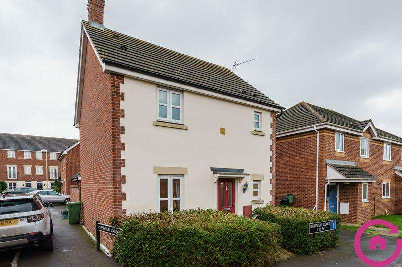 3 Bedrooms Detached House for sale in Persimmon Gardens, Cheltenham