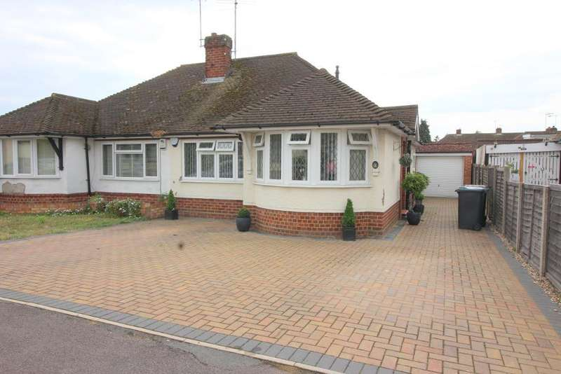 2 Bedrooms Bungalow for sale in Hathaway Close, Luton, Bedfordshire, LU4 0HU