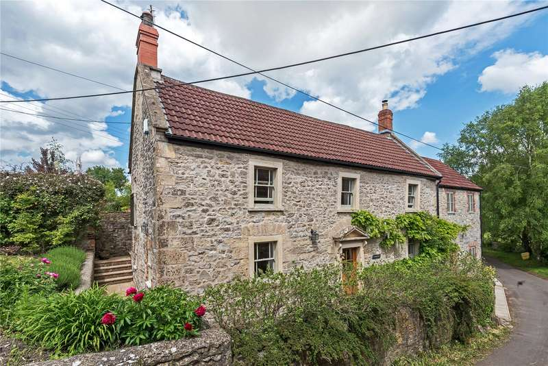 4 Bedrooms Detached House for sale in Prestleigh Lane, Prestleigh, Shepton Mallet, Somerset, BA4