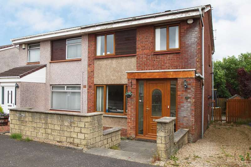 3 Bedrooms Semi Detached House for sale in Cruachan Way, Barrhead
