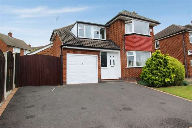4 Bedrooms Detached House for sale in Portreath Drive, Allestree, Derby