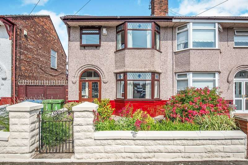 3 Bedrooms Semi Detached House for sale in Apsley Road, Liverpool, L12