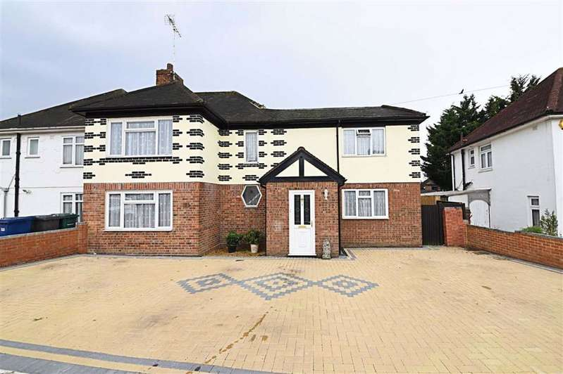 4 Bedrooms Semi Detached House for sale in Brookfield Crescent, Mill Hill, London, NW7