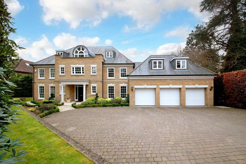 6 Bedrooms Detached House for sale in Shrubbs Hill Lane, Sunningdale