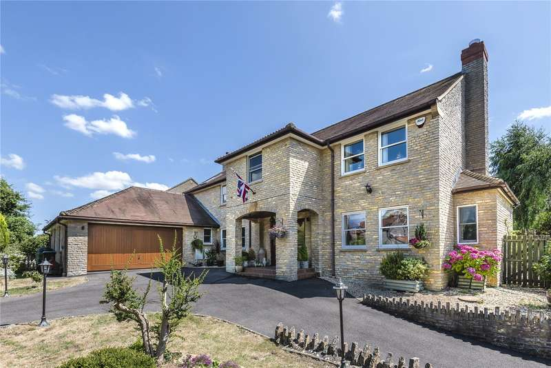5 Bedrooms Detached House for sale in Church Street, Barton St. David, Somerset, TA11