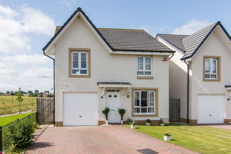 4 Bedrooms Detached House for sale in Church View , Winchburgh, Broxburn, EH52