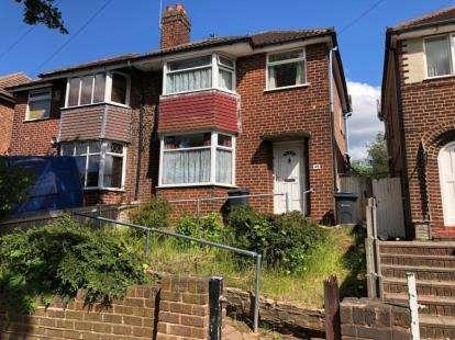 3 Bedrooms Semi Detached House for sale in Warren Hill Road, Birmingham, West Midlands