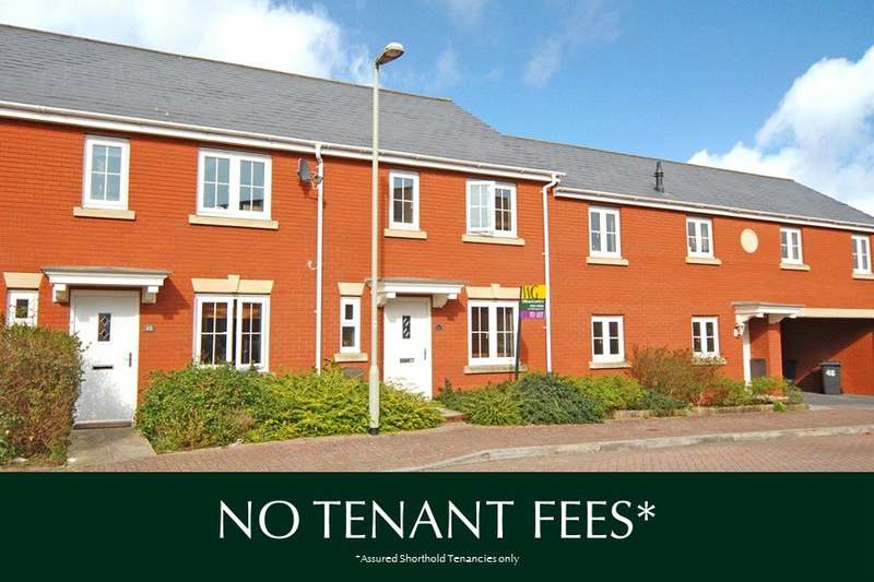 3 Bedrooms Terraced House for rent in Clyst Heath, Exeter