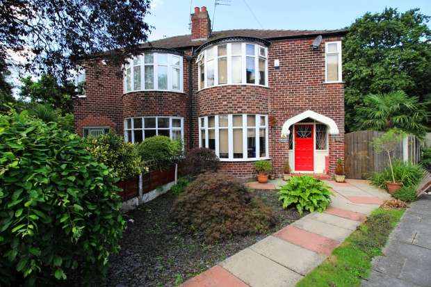 3 Bedrooms Semi Detached House for sale in Kingsway, West Didsbury, Greater Manchester, M20 5WR