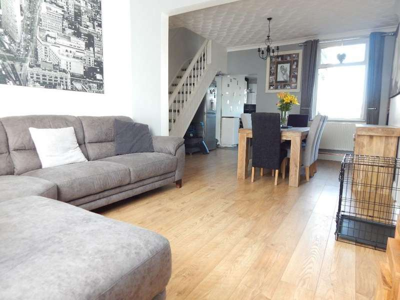 3 Bedrooms Terraced House for sale in Clydach Street, Brynmawr, NP23 4RN