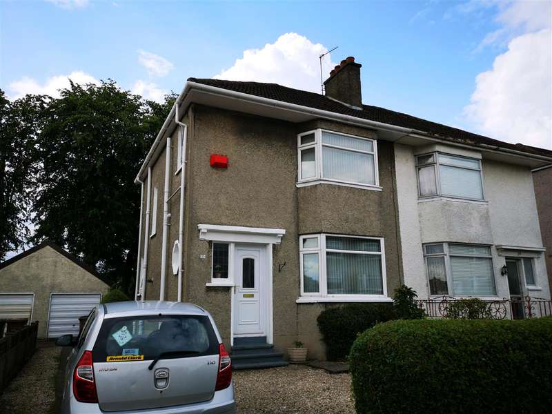 3 Bedrooms Semi Detached House for sale in Ladyhill Drive, Glasgow