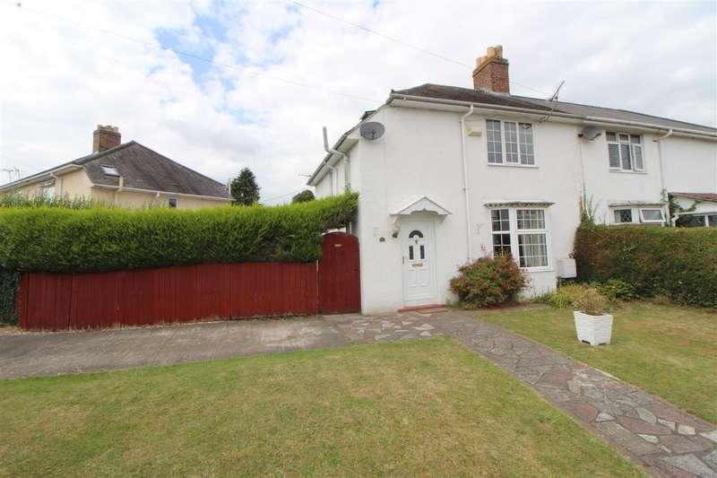 3 Bedrooms Semi Detached House for sale in Crossway, Caldicot