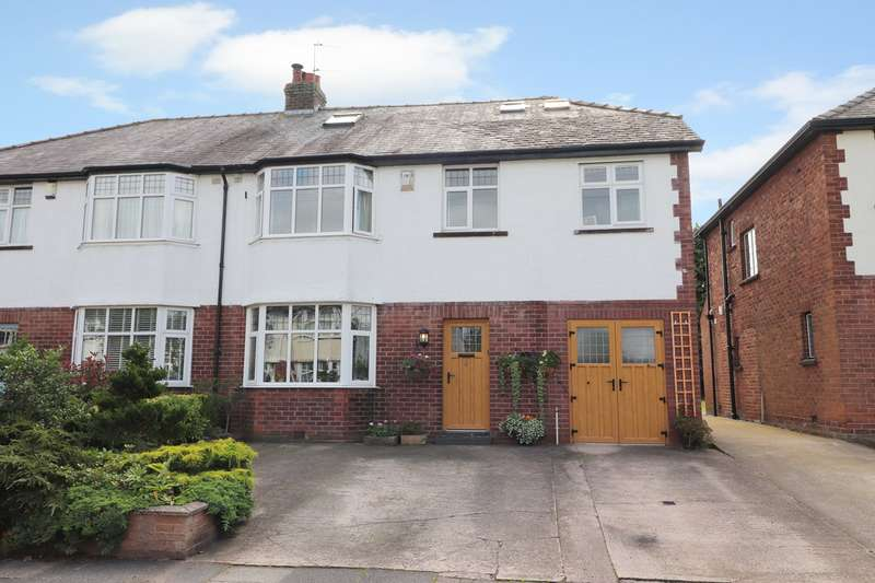 4 Bedrooms Semi Detached House for sale in Croft Road, off Brampton Road, Carlisle, CA3