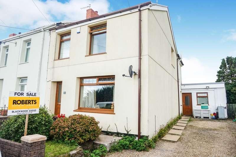 3 Bedrooms End Of Terrace House for sale in Wimbourne Terrace, Gelligaer, Hengoed, CF82