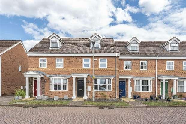 3 Bedrooms Terraced House for sale in Halesowen Drive, Elstow, Bedford