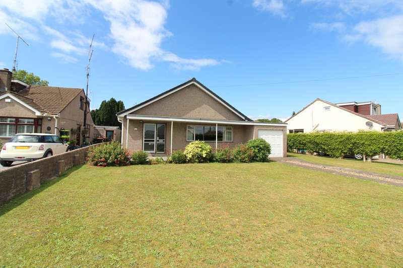3 Bedrooms Detached Bungalow for sale in Cefn Court, Rogerstone, Newport, NP10