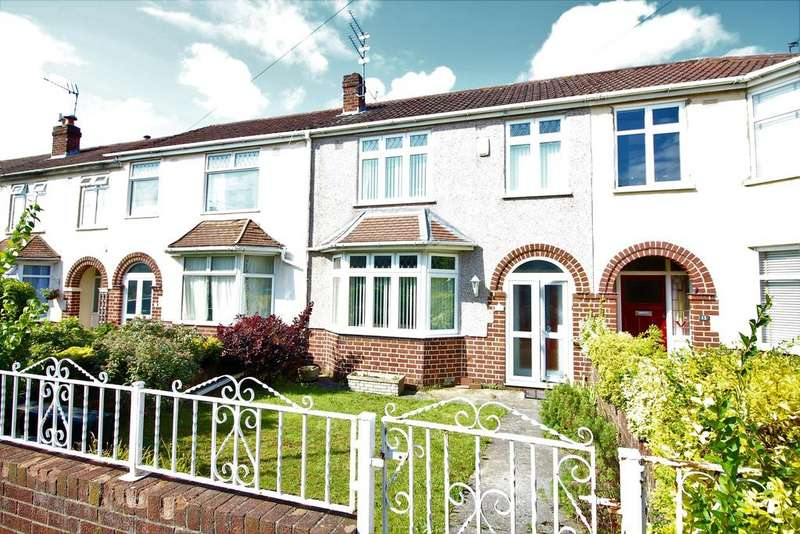 3 Bedrooms Terraced House for sale in Chewton Close, Bristol, BS16 3SR
