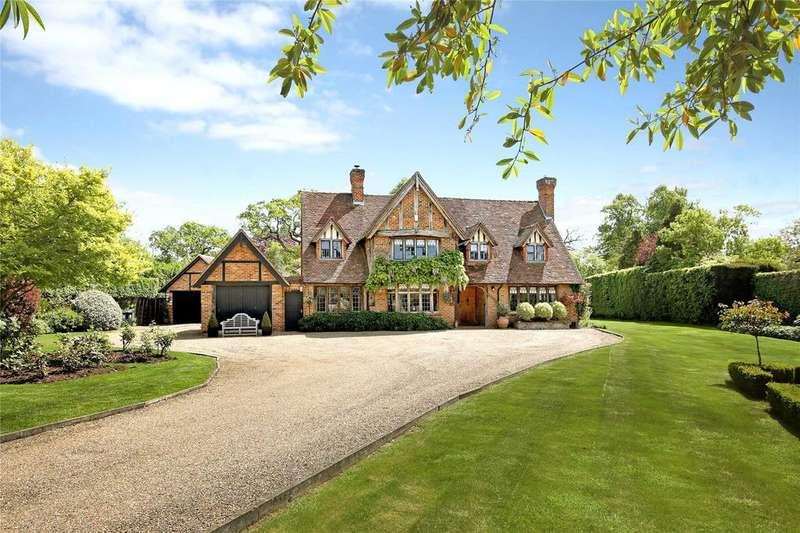 5 Bedrooms Detached House for sale in Dorney Wood Road, Burnham, Slough, SL1
