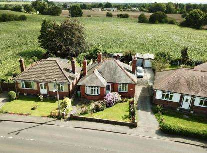 2 Bedrooms Bungalow for sale in Ollershaw Lane, Marston, Northwich, Cheshire