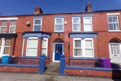 4 Bedrooms Terraced House for rent in Langdale Road, Liverpool.