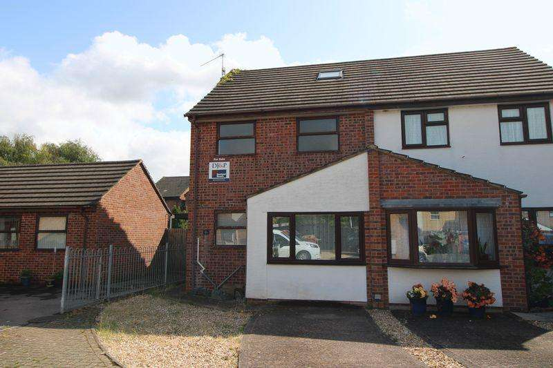 2 Bedrooms Semi Detached House for sale in Grosmont Close, Monmouth