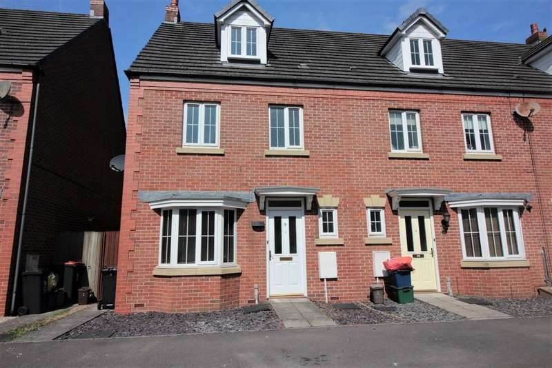 4 Bedrooms Semi Detached House for sale in Buccaneer Close, Newport,