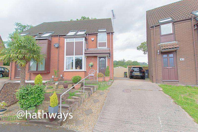 3 Bedrooms Semi Detached House for sale in Five Locks Close, Cwmbran