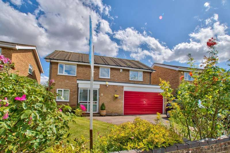 4 Bedrooms Detached House for sale in Colchester Way, Bedford, Bedfordshire, MK41 8BG