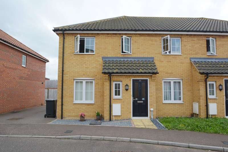 3 Bedrooms End Of Terrace House for sale in Robin Avenue, Harleston