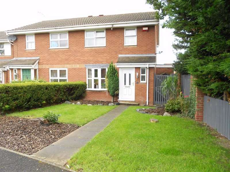 3 Bedrooms Semi Detached House for sale in Parkers Road, Coppenhall, Crewe, Cheshire