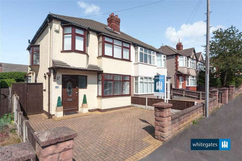 3 Bedrooms Semi Detached House for sale in Ashlar Road, Aigburth, Liverpool, Merseyside, L17