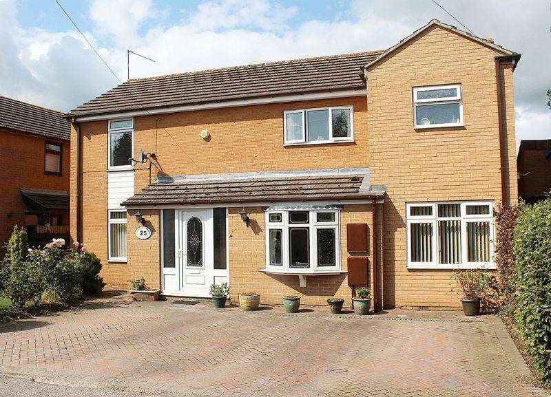 4 Bedrooms Detached House for sale in Jubilee Drive, Bredon, GL20