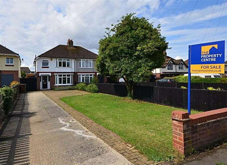 3 Bedrooms Semi Detached House for sale in Pirton Lane, Churchdown