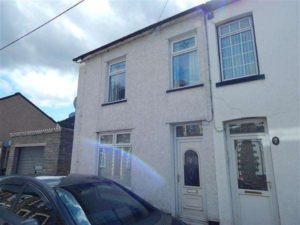 2 Bedrooms End Of Terrace House for sale in Carlyle Street, Abertillery, NP13 1UE