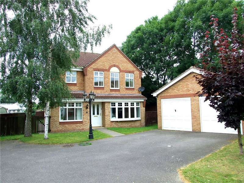 4 Bedrooms Detached House for sale in Woodfield Road, South Normanton, Alfreton, Derbyshire, DE55