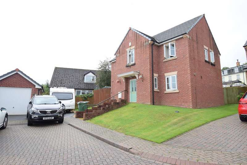 4 Bedrooms Detached House for sale in Museum Court, Griffithstown, Pontypool, NP4