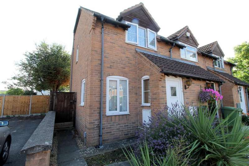 2 Bedrooms End Of Terrace House for sale in off Rowanfield Road