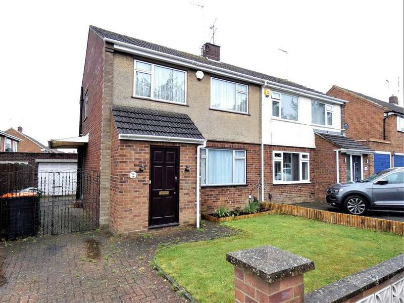 3 Bedrooms Semi Detached House for rent in Katherine Drive, Dunstable
